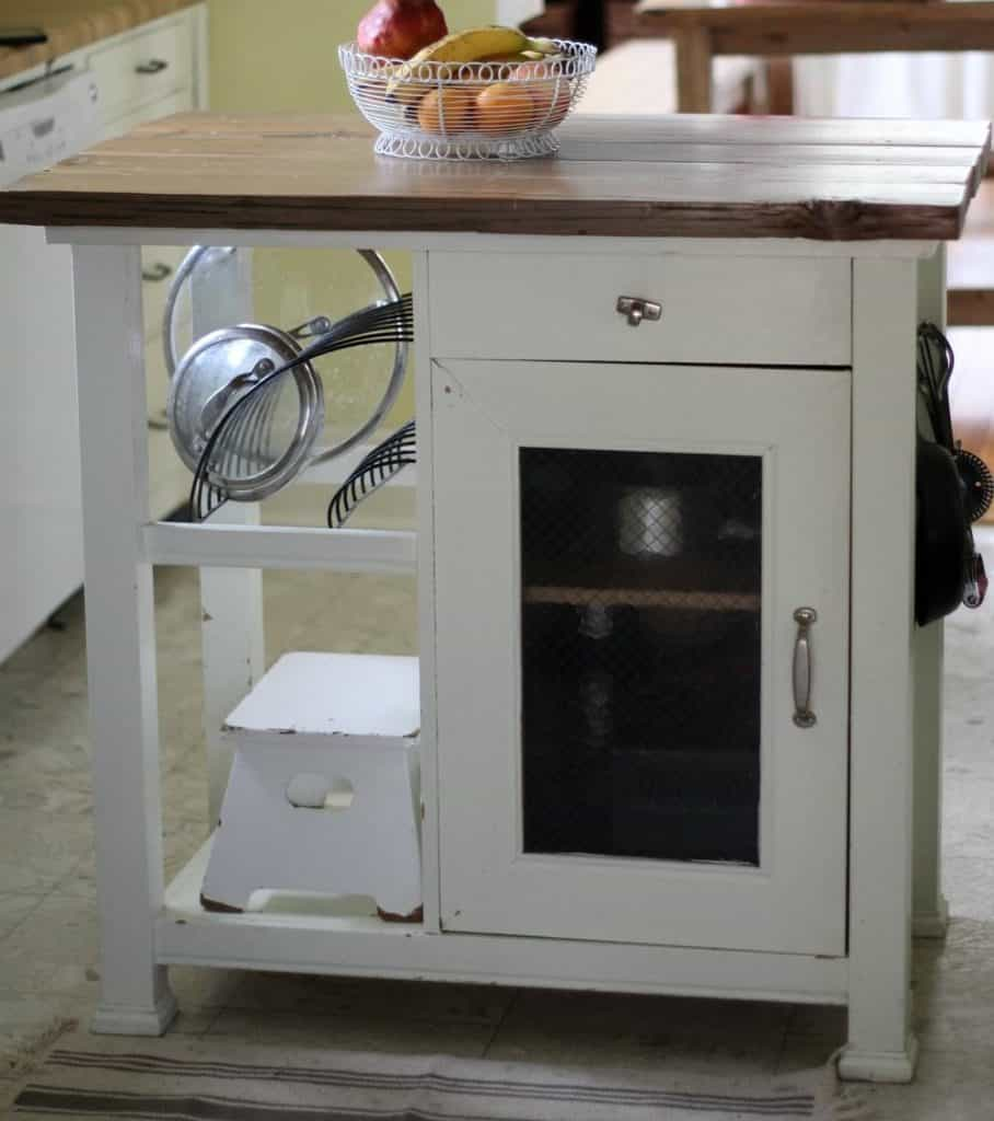 How to Update a Farmhouse Kitchen Island - Farmhouse on Boone