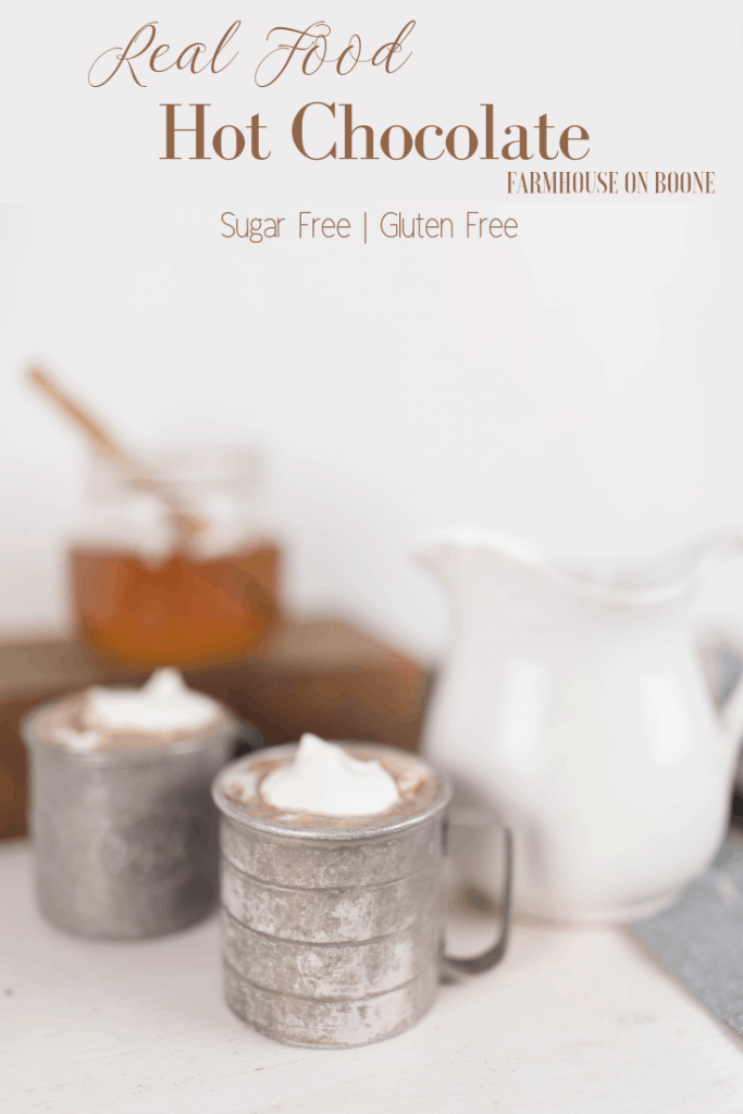 real food hot chocolate recipe