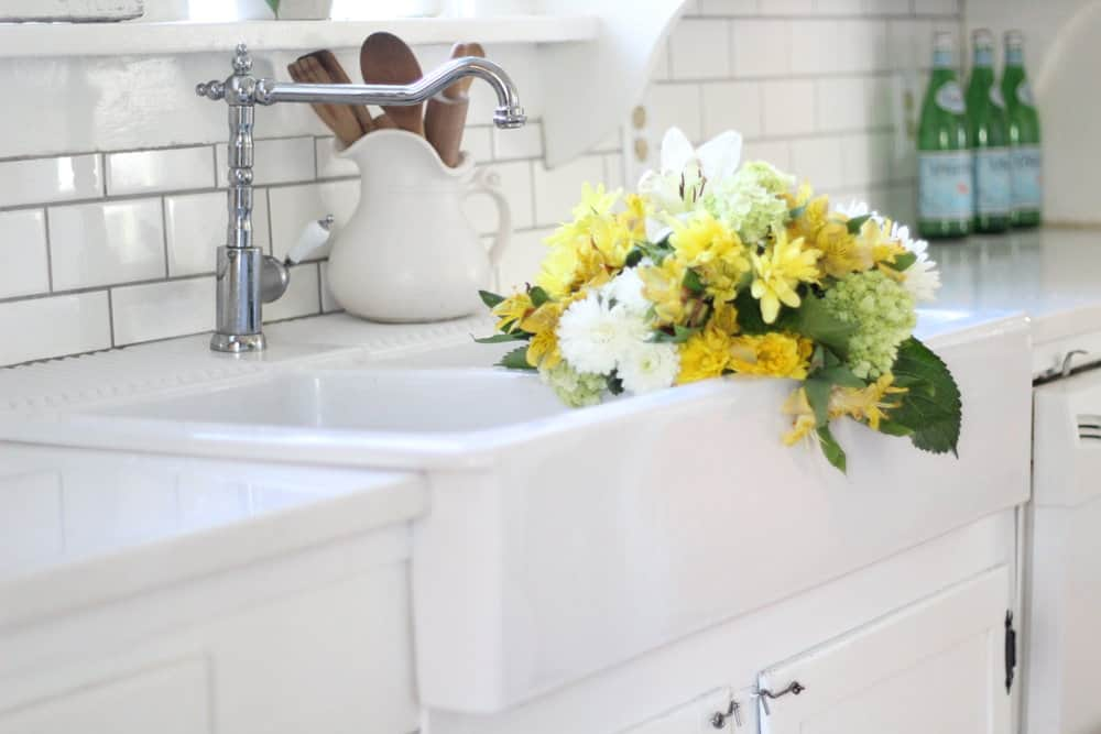 A Review Of Our Ikea Quartz Countertops Farmhouse On Boone