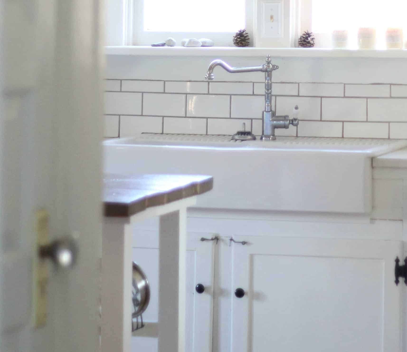 Genial Our Experience With The IKEA Domsjo Double Bowl Farmhouse Sink   Farmhouse  On Boone