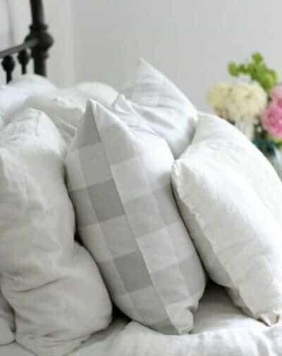 "buffalo check 20"" pillow covers"