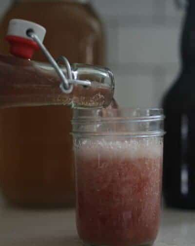 Learn how to make homemade water kefir with this simple tutorial