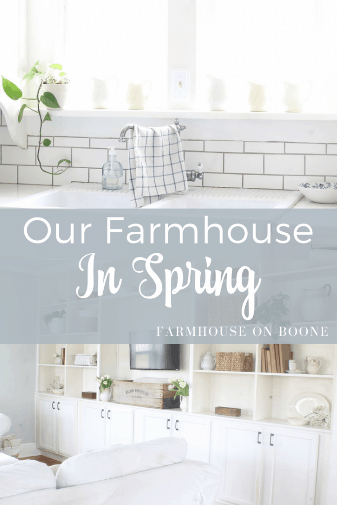 our farmhouse in spring