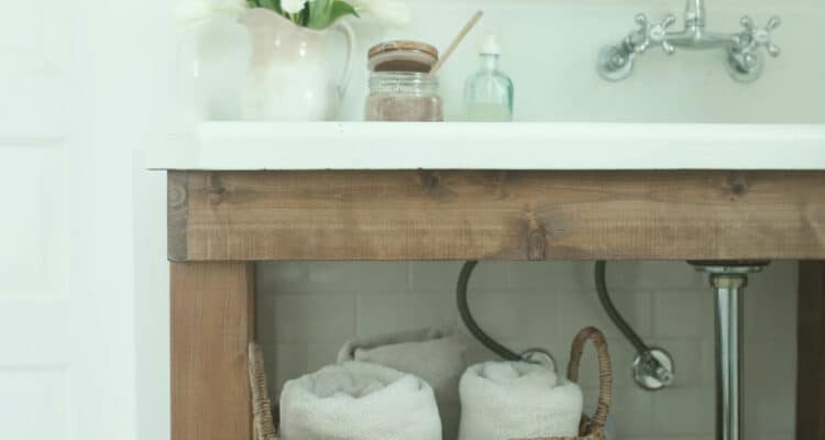 Farmhouse Bathroom Remodel Reveal