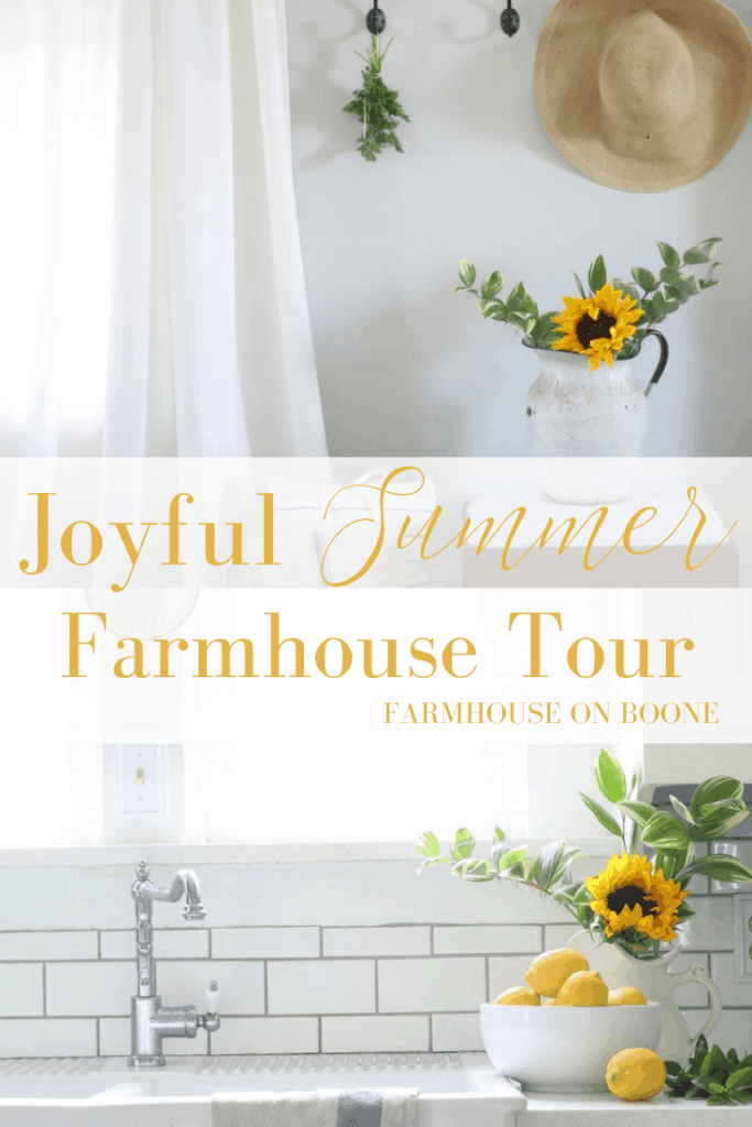 Joyful Summer Home Tour