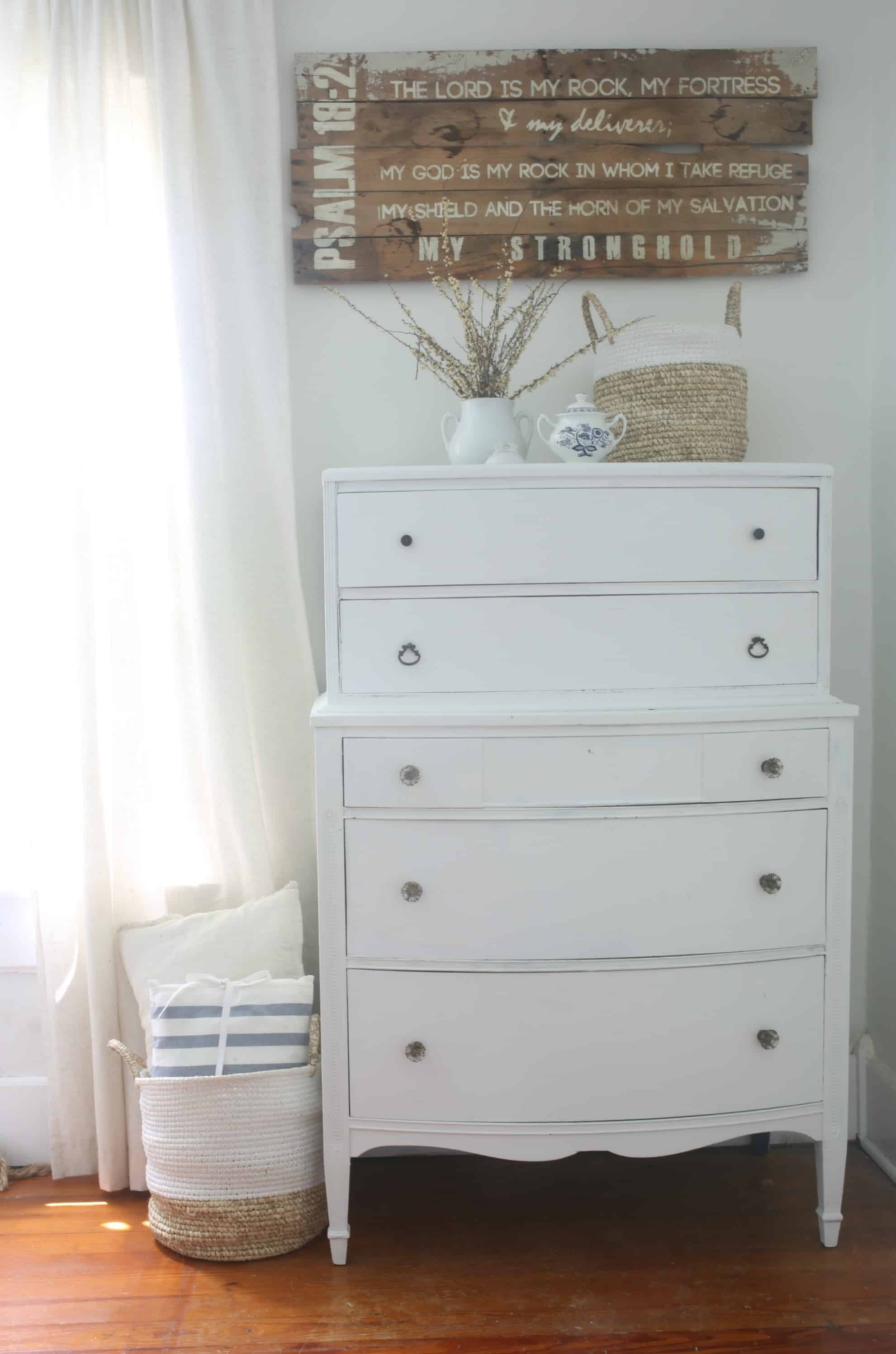 Linen White Chalk Paint Dresser