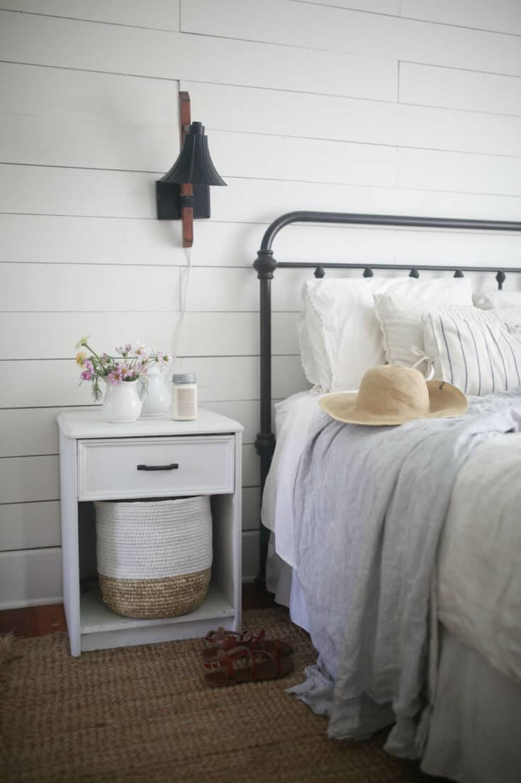 Summer Farmhouse Bedroom Tour
