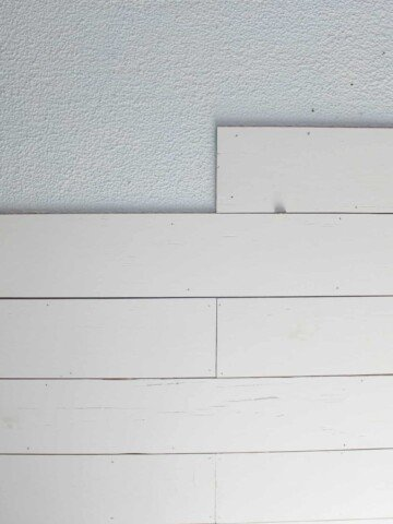 learn how to plank a popcorn ceiling to create farmhouse style