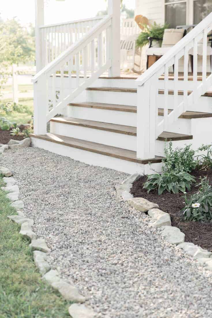 How to Cover Concrete Steps with Wood
