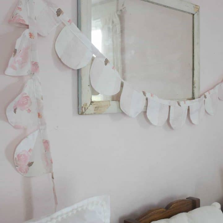 How to Make Fabric Bunting for Children's Room
