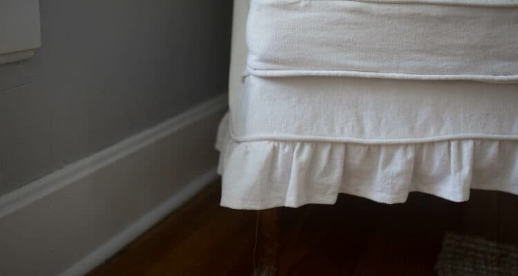 how to make piping for slipcovers