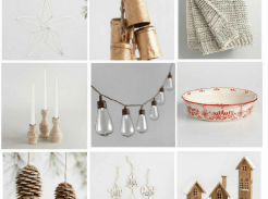 Scandinavian Christmas Decorations from World Market