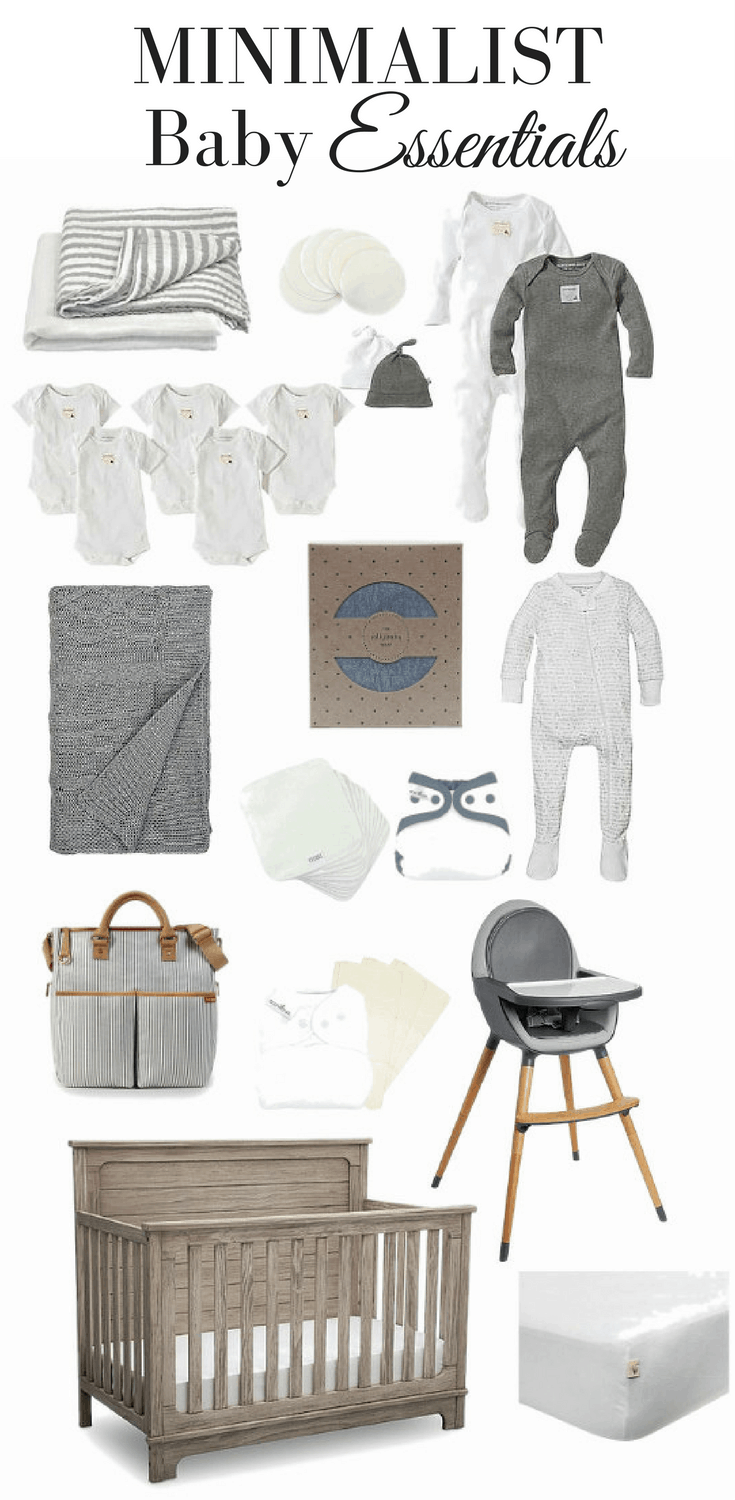 Minimalist Baby Essentials Baby Checklist for the Natural Mom