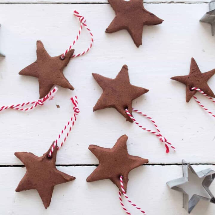 DIY Applesauce Cinnamon Ornaments