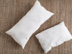 Learn how to make a pillow insert in any size out of drop cloth with this video tutorial.
