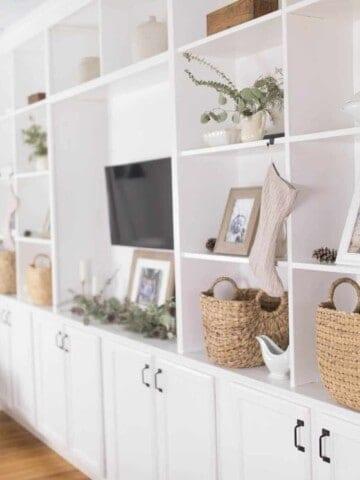 Farmhouse Living Room Winter Decor