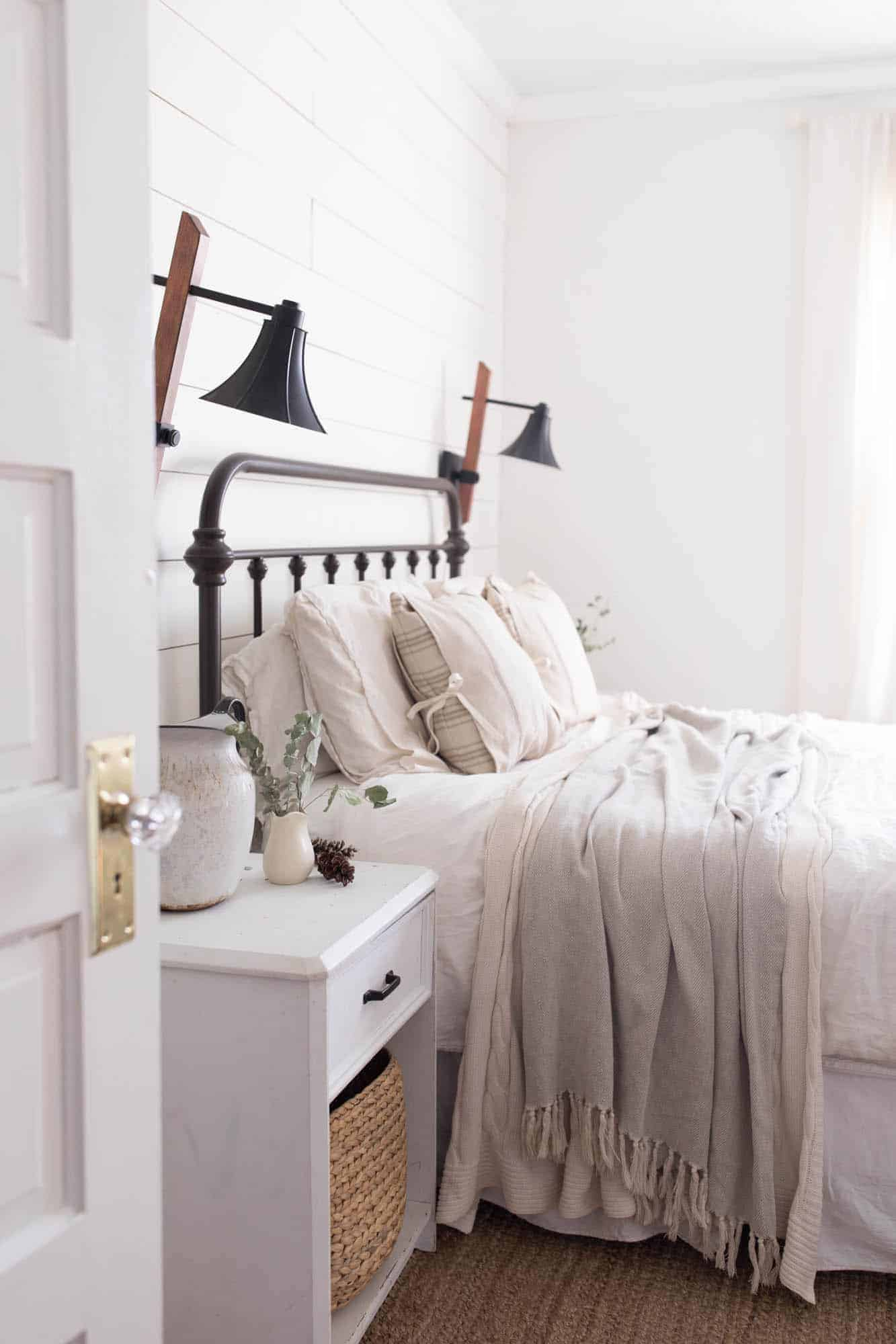 Winter Farmhouse Bedroom - Farmhouse on Boone