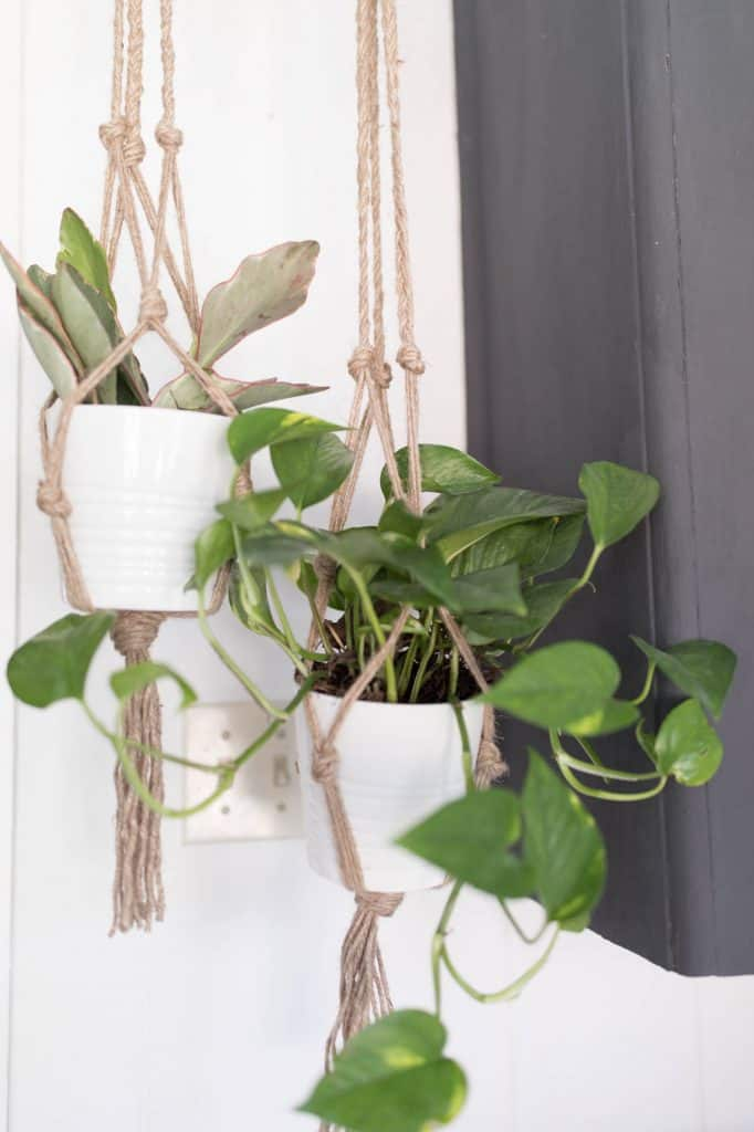 DIY Farmhouse Decor Plant Hanger Video Tutorial