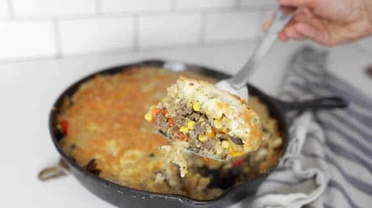 One Pot Meal - Sourdough Skillet