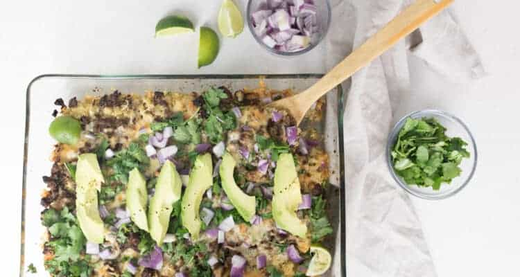 Healthy Quinoa Nachos Without Chips