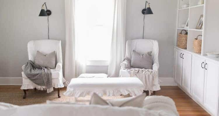 White Slipcovers with Kids