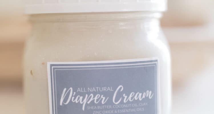 Best diaper rash cream all natural diy recipe with bentonite clay