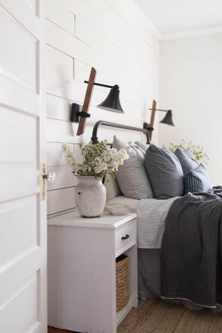 Summer Bedroom Farmhouse Decor