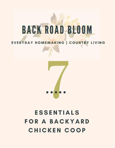 7 Essentials for a backyard chicken coop free ebook