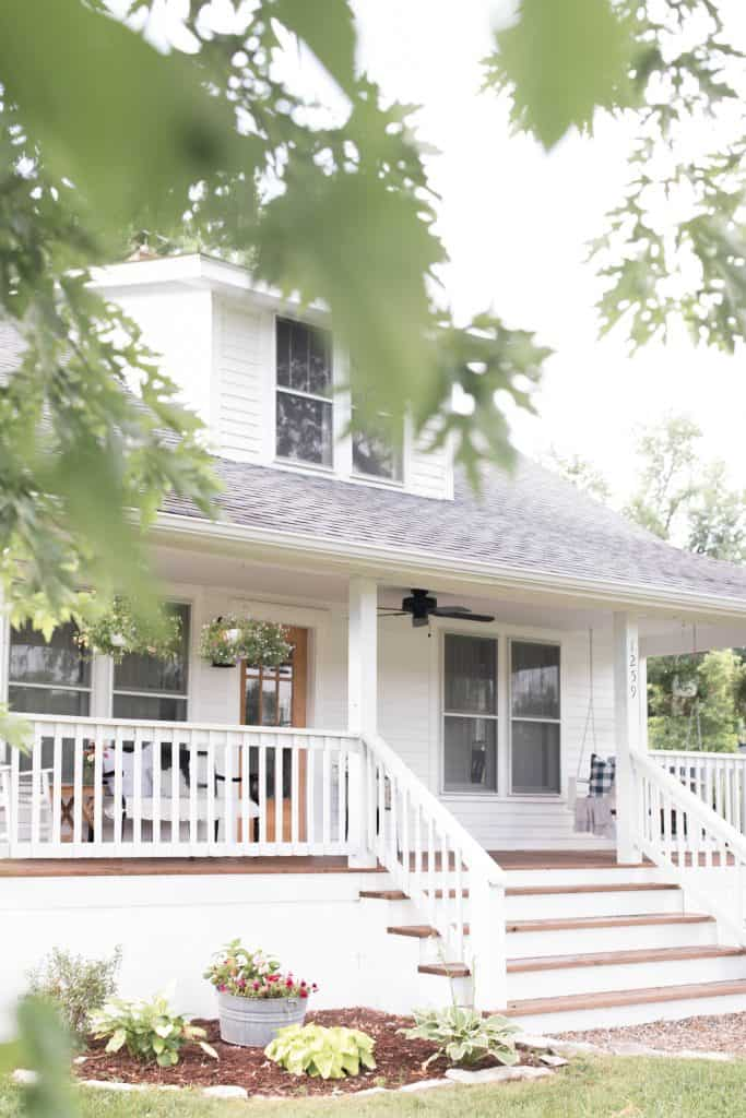 Summer farmhouse porch tour