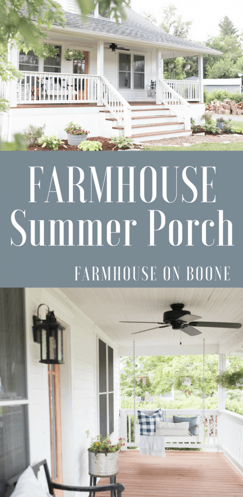 summer farmhouse porch farmhouse home tour
