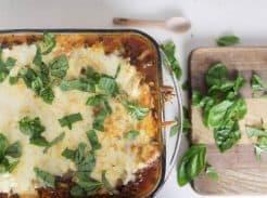 Zucchini Lasagna recipe grain free