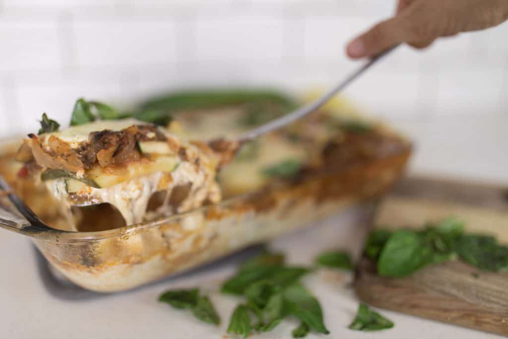 zucchini lasagna recipe from scratch