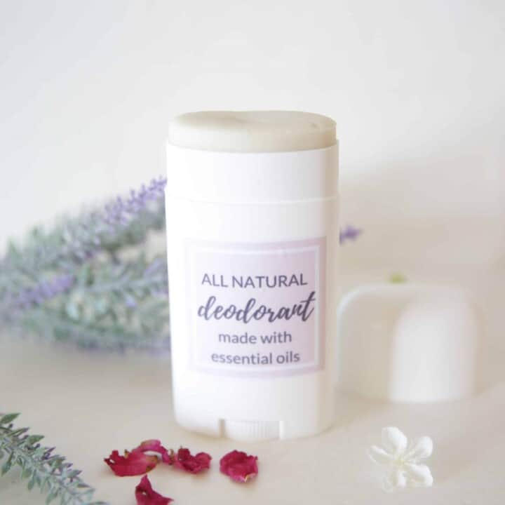 how to make deodorant with essential oils