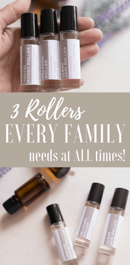 Free printable labels Three Roller Bottles Every Family Needs on Hand DIY Essential Oil Recipes