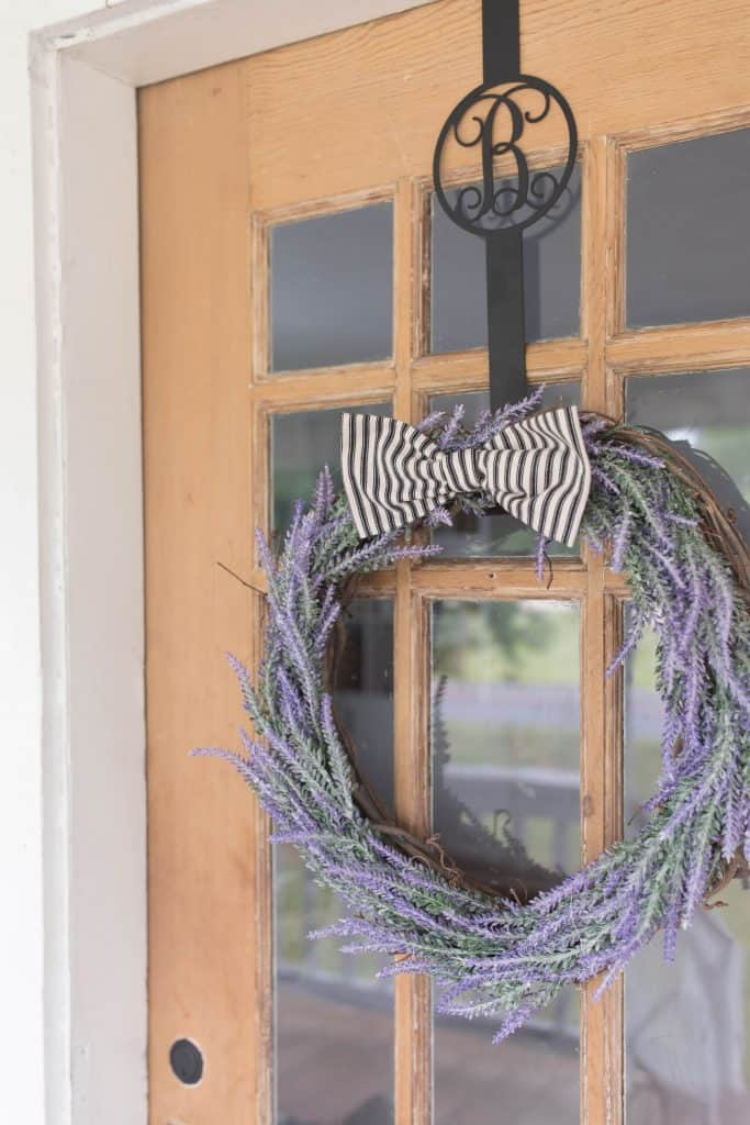 How To Make A Lavender Wreath Diy Farmhouse Decor