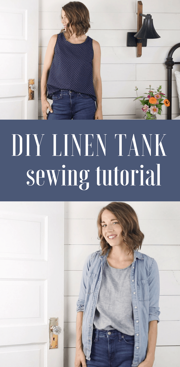 How to Sew a Tank Top Sewing Tutorial for Beginners