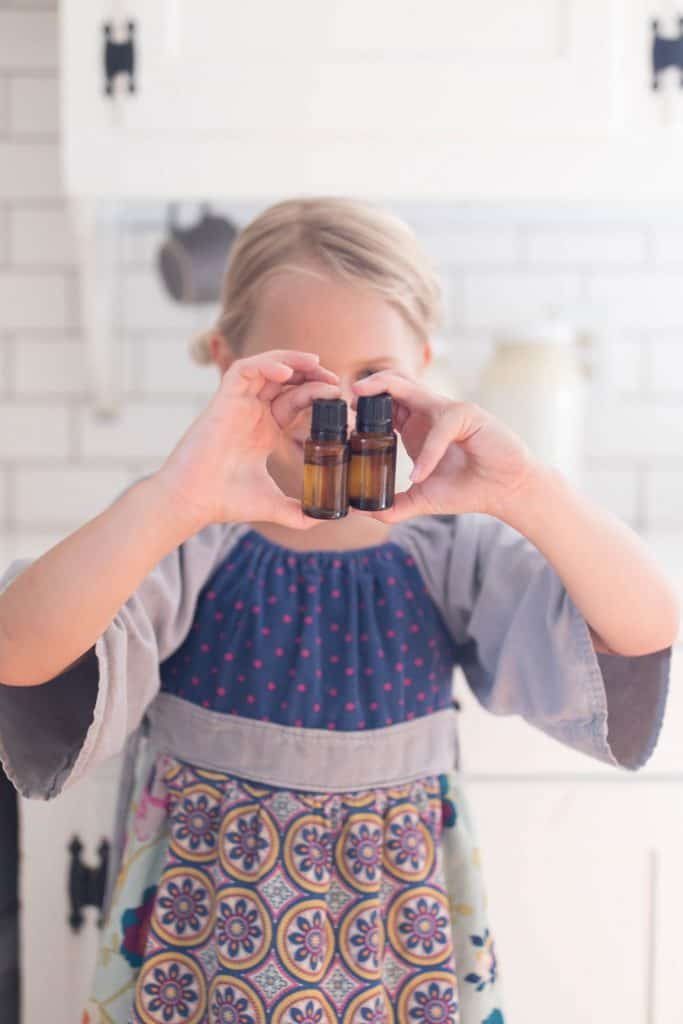 top three essential oil blends for kids