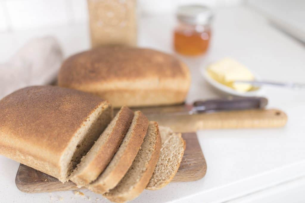 whole grain sourdough bread wild fermented long fermentation sourdough bread