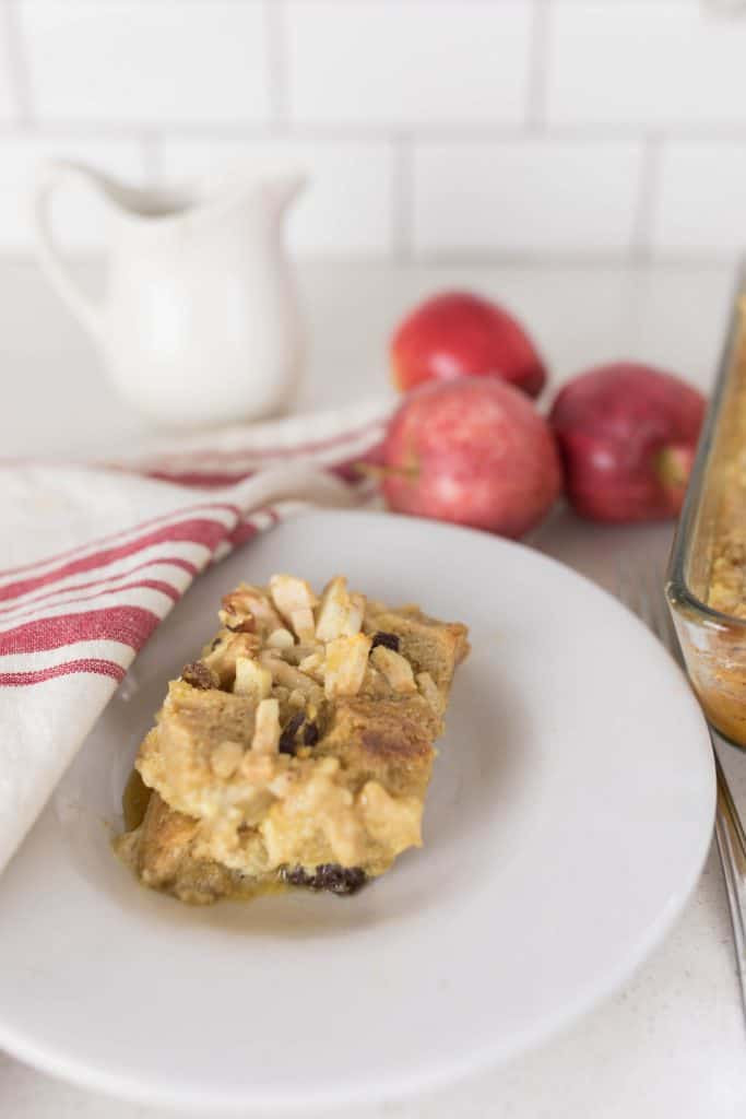 french toast casserole with sourdough bread apple cinnamon raisin