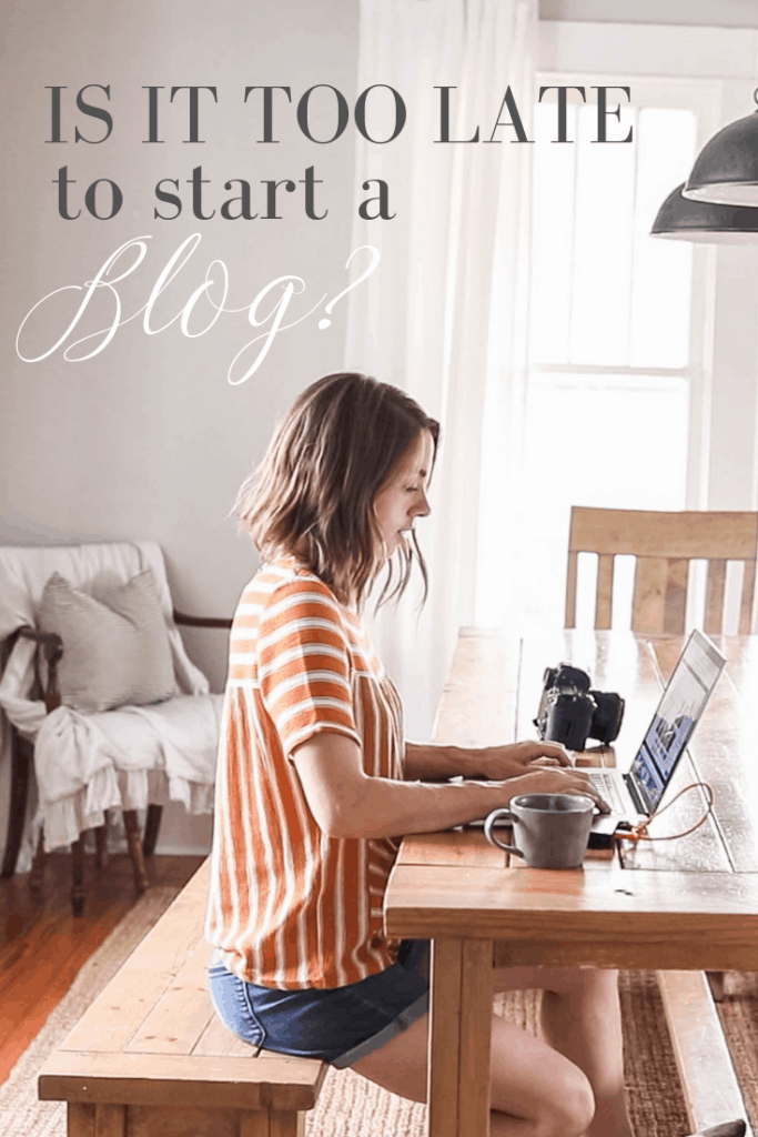 is it too late to start a blog is it possible to earn an income with blogging