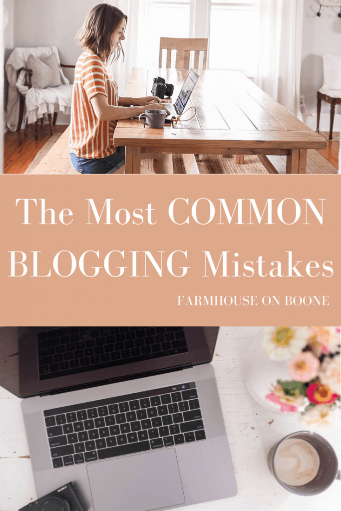 The Three Biggest Mistakes New Bloggers Make