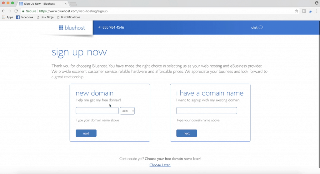 How to start a blog finding a domain name