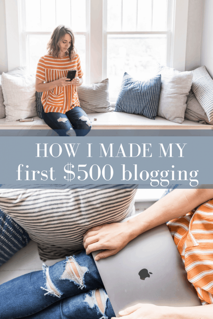 How I made my first 500 blogging. How to make money with a blog