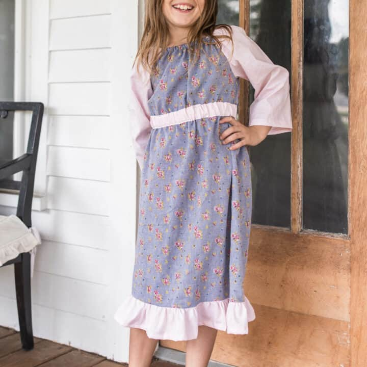 Peasant Dress Pattern For Girls