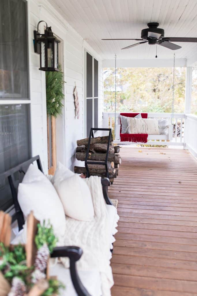 front porch decorating farmhouse style