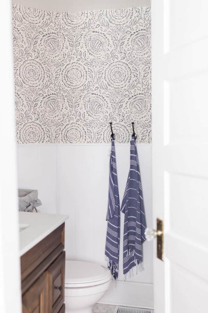farmhouse bathroom makeover design finishing touches with turkish towels farmhouse on boone