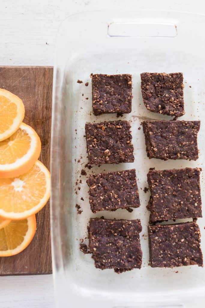 orange chocolate fruit and nut bars cooking with essential oils essential oil recipes homemade larabars