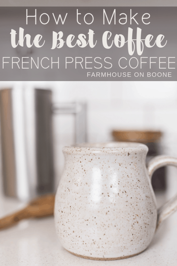 French press coffee recipe