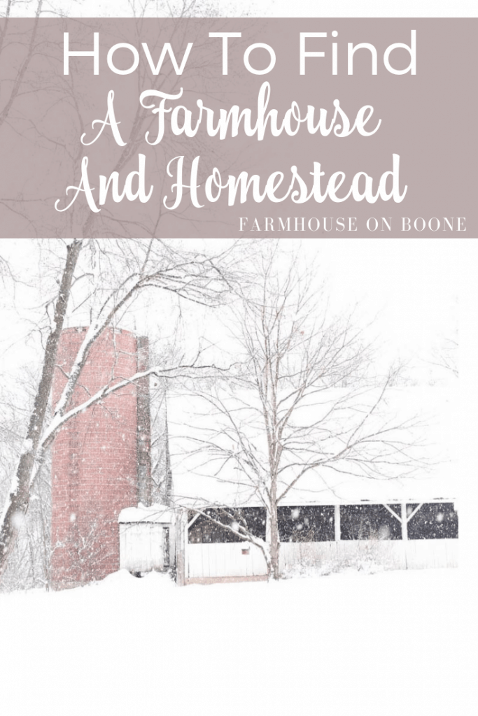 How to find A Farmhouse And Homestead