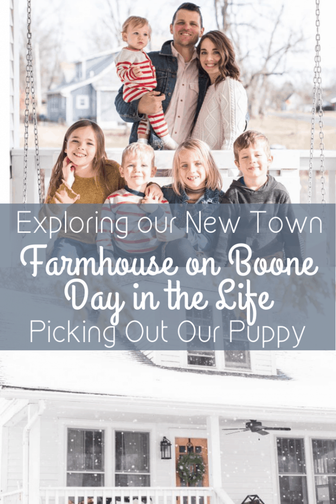 exploring our new town and picking out our puppy FOB DITL
